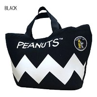 PEANUTS(ピーナッツ) ネオプレーン製 トートバッグ ウェットバッグ TOTE BAG (WETSUITS CARRY CASE) BLACK