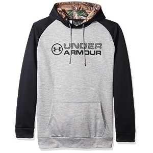 Under ArmourメンズArmour StormフリースStacked hoodie-tall 3L グレー
