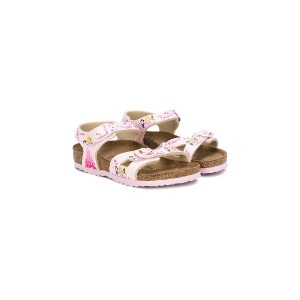 Birkenstock Kids Disney Princess サンダル - ピンク&パープル