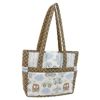 Stephan Baby Going Places Piece-Quilted Carry-All Baby Gear Tote by Stephan Baby