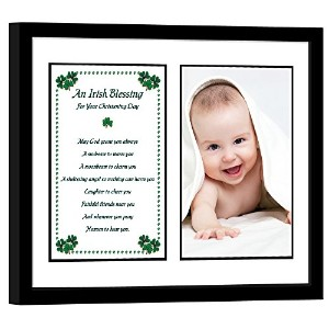 Christening Gifts - Baby Keepsake Frame - Add Photo by Poetry Gifts