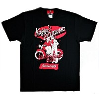 CREAM SODA 50th Kaijin20menso Tシャツ『BLACK』☆ PINK DRAGON クリームソーダ (M)