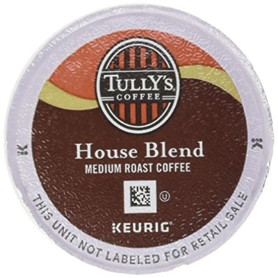 Keurig Tully's(タリーズ)KカップTully's Coffee  K-Cup for Keurig Brewers 並行輸入品 (ハウスブレンドHouse Blend, 50カップ...