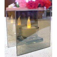 infinity tealight candle holder–ミラーガラスホルダーwith LED Tealight included- Seasonal、パーティー、日々