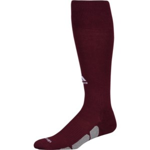 アディダス ユニセックス 野球【Team Utility OTC Socks】Maroon/White/Light Onix