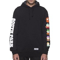 HUF X South Park SP Kids Pullover Hoodie Black L パーカー 並行輸入品