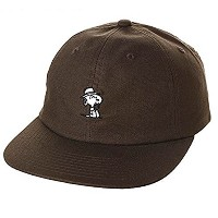 HUF X Peanuts Spike 6 Panel Hat Cap Black キャップ 並行輸入品