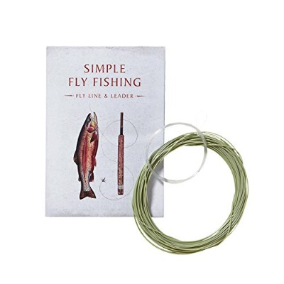 """Patagonia パタゴニア 12030 Simple Fly Fishing Fly Lines and Leader for 8'6"""" Rod シンプル・フライフィッシング・ライン&リーダー..."""