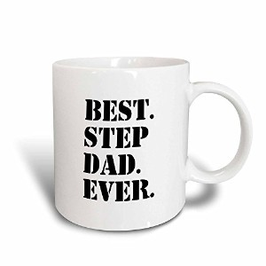 3dローズInspirationzStoreタイポグラフィ – BestステップDad Ever – Gifts for Family and Relatives – Stepdad –...
