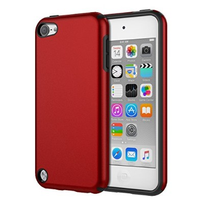ATiC Apple iPod touch 第7世代 / iPod touch 第6世代 / iPod Touch 第5世代 適用 PC+TPU製 組み立て式 保護ケース RED