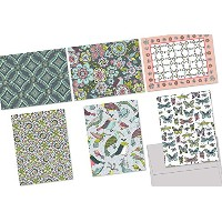 72 Note Cards for $22.99 - In Bloom - 6 Designs - Blank Cards - Gray Envelopes Included by Note...