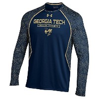 "Georgia Tech Yellowjackets Under Armour "" Reach The Apex ""パフォーマンスL / Sシャツ 3L"