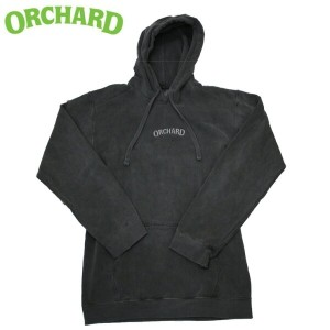 ORCHARD オチャード HOOD TEXT EMBROIDERED PEPPER フード スウェット パーカー