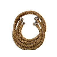 RopeServices UKポリッシュクロームデッキロープカップEnd継手にフィット24mm by RopeServices UK