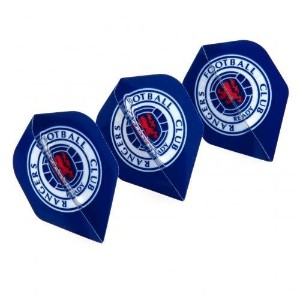 Rangers f.c. Dart Flights byレンジャーズ。