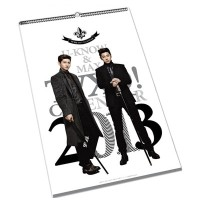 Tohoshinki 東方神起 (TVXQ) - 2013 Official Calendar 壁掛け型こよみ Seasons Greeting