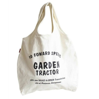 POWER TOTE BAG 1(IVORY GARDEN) トートバッグ エコバッグ マザーズバッグ ファッション 雑貨 アメカジ THE UNITED EMN 101260-1