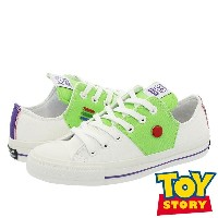 CONVERSE ALL STAR 100 TOY STORY BL OX コンバース オールスター 100 トイ ストーリー BL OX WHITE/GREEN
