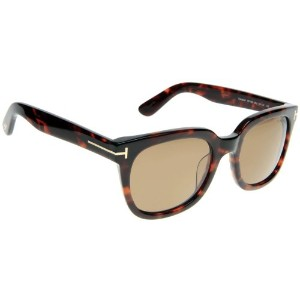 Tom Ford TF 198/S Campbell 56J Tortoise Unisex Sunglasses