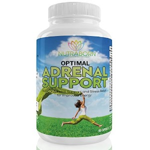 Optimal Adrenal Support, Adrenal Health Supplement: Fights Adrenal Fatigue Syndrome, extreme...
