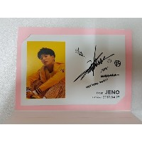[KPOP] SM TOWN  公式 GOODS -  NCT JENO Birthday Event Limited Postcard
