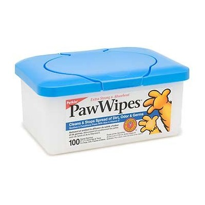 Petkin Paw Wipes 100ct by PawWipes