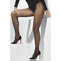 Smiffys Women's Black Fishnet Tights - One Size
