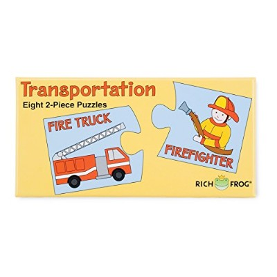 Rich Frog Puzzle- Transportation by Rich Frog