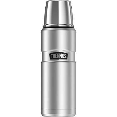 Thermos Stainless King 470ml Compact Bottle, Stainless Steel