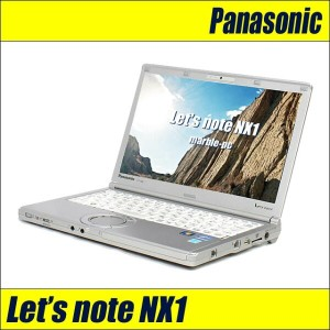 中古パソコン メモリ8G! Panasonic Let's note NX1GDHYS/i5-2540M 2.6G/12.1WXGA++/HDD250G/WLAN/Bluetooth/Webカメラ...