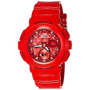 [カシオ]Casio 腕時計 Baby G BGA195M4A Red Rubber Quartz Sport Watch BGA-195M-4ADR (B182) レディース [並行輸入品]