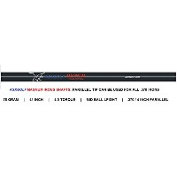 AGXGOLF Magnum Regular Flexグラファイトアイアンシャフト: 370 Parallel Tip / 41インチ; 78 g / 4.5トルク:使用for any ...