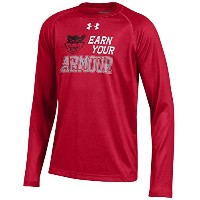 ユースunder armour Cincinnati Bearcats Tech Long Sleeve Tee