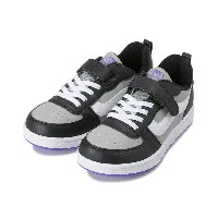 キッズ 【VANS】 ヴァンズ LENG V2003KS 18SP BLK/GRY/PPL