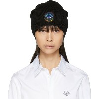 ケンゾー レディース 帽子 ニット【Black Limited Edition Holiday Eye Beanie】