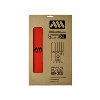 AMS Honeycomb Frame Guard XL (RED)