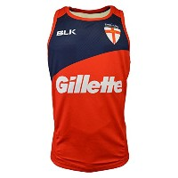 2015-2016 England Rugby League BLK Training Singlet (Red)