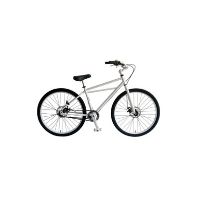 【~40.0kg】INZIST BICYCLE 26インチクルーザー SS ホワイト SS-WH