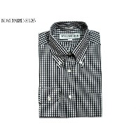 INDIVIDUALIZED SHIRTS(インディビジュアライズド シャツ)/L/S STANDARD FIT B.D. GINGHAM CHECK SHIRTS/black