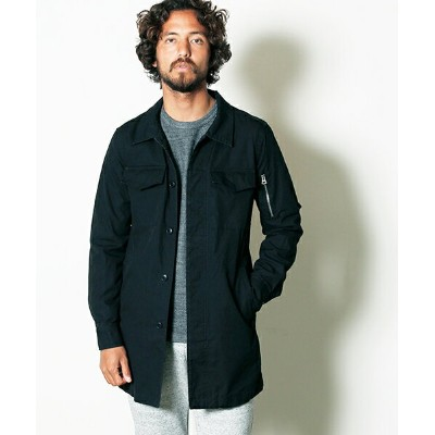 【Magine(マージン)】1731-04-HIGH COUNT OX MILITARY LONG SHIRTS COAT コート