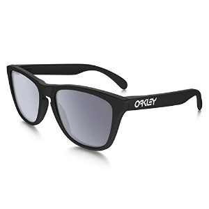 (オークリー)OAKLEY サングラス フロッグスキン Frogskins Polarized (Asia Fit) oo9245-19 matte black/gray polarized...