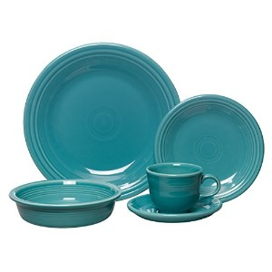 Fiesta 5-Piece Place Setting, Turquoise by Unknown