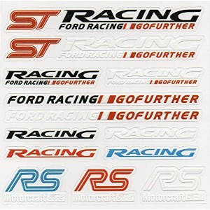 Ford フォード ST RACING RS カー ステッカー