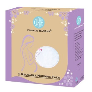 Charlie Banana Nursing Pads, Black by Charlie Banana [並行輸入品]