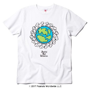 rockin'star★ Tシャツ EARTH SNOOPY[S]