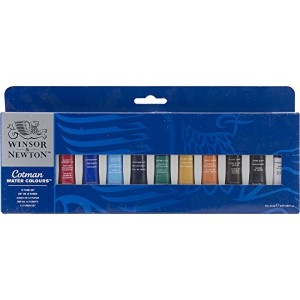 Winsor &ニュートンCotman Water Colourセット8 ml 12 / pkg-assorted色