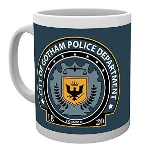 Gb Eye Dc Comics Gotham Police Badge Mug, Multi-colour