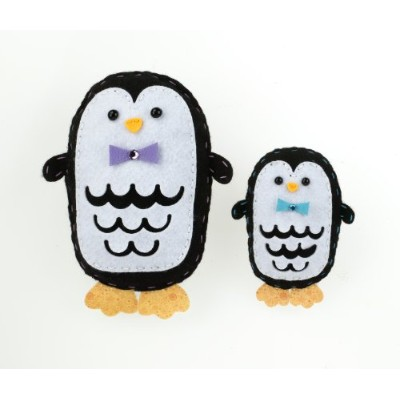 (1, classic) - American Girl Crafts Sew and Stuff Kit, Penguins