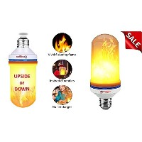 Topnotch Fire Light Bulbs – LED炎効果ライト電球 – Flame電球 – 追加A Vintage Romantic Atmosphere To Anyバーレストランホテル...