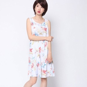 【SALE 67%OFF】ロイヤルパーティー プロデュースド バイ ルーミィーズ ROYAL PARTY produced by Roomy's OUTLET ネオフラワープリントワンピース ...
